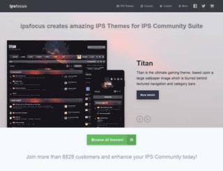 ipsfocus.net screenshot