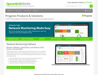 ipswitchworks.com screenshot