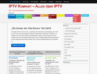 iptv-kompakt.de screenshot