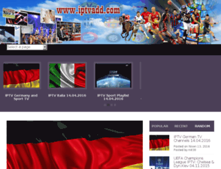 iptvadd.com screenshot