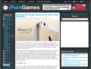 ipwngames.com screenshot