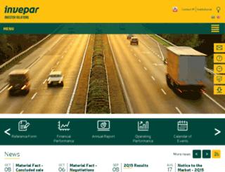 ir.invepar.com.br screenshot