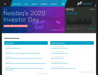 ir.nasdaqomx.com screenshot