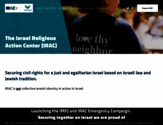 irac.org screenshot