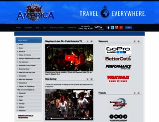 iradavidspedalamerica.com screenshot
