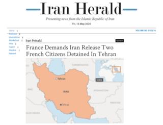 iranherald.com screenshot