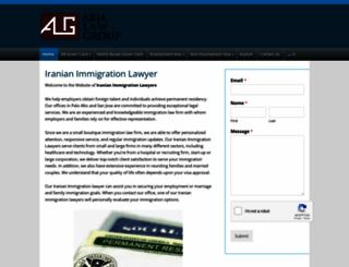 iranianimmigrationlawyers.com screenshot