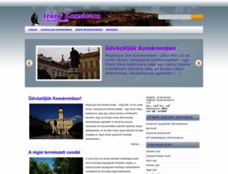 iranykomarom.blogspot.sk screenshot