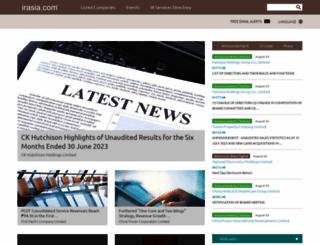 irasia.com screenshot