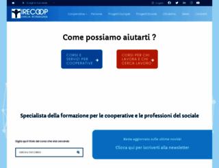 irecoop.it screenshot