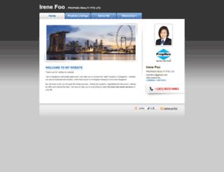 irenefoo.myweb.sg screenshot