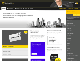 iresidence.ca screenshot
