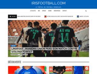 irisfootball.com screenshot