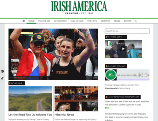 irishamerica.com screenshot