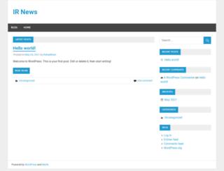 irnews.org screenshot