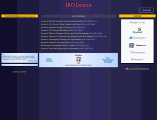 irojournals.com screenshot
