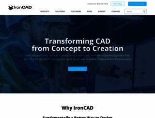 ironcad.com screenshot