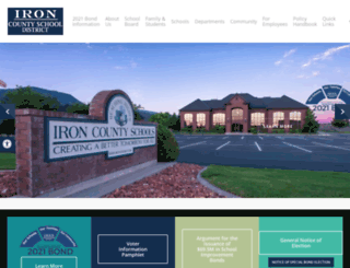 irondistrict.org screenshot