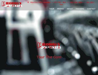 ironprodigygym.com screenshot