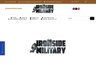 ironsidemilitary.com.au screenshot