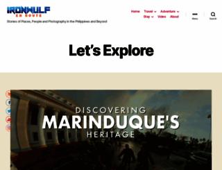 ironwulf.net screenshot