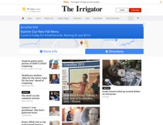 irrigator.com.au screenshot