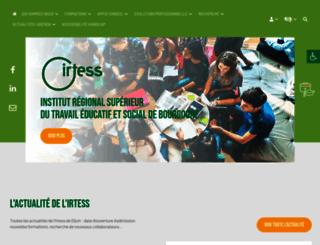 irtess.fr screenshot