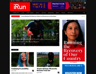 irun.ca screenshot