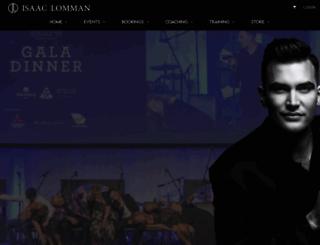 isaaclomman.com.au screenshot