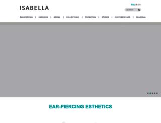 isabella-asia.com screenshot