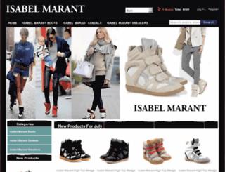 isabelmarantsaleshop.com screenshot