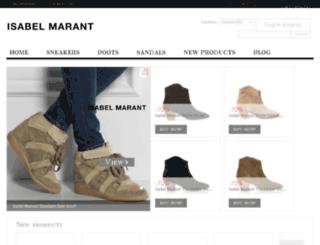isabelmarantsneakersonlineoutlet.com screenshot