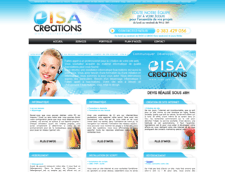 isacreations.com screenshot
