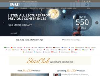 isarastrology.com screenshot