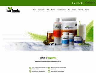 isatonic.com.au screenshot
