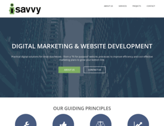 isavvy.co.nz screenshot