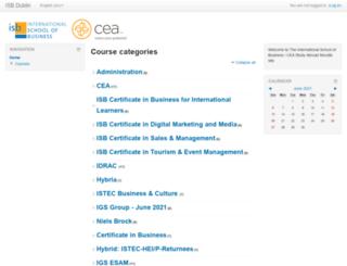 isb.bitnamiapp.com screenshot