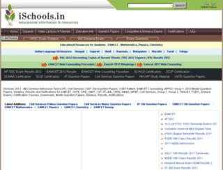 ischools.in screenshot
