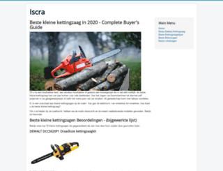iscra.nl screenshot