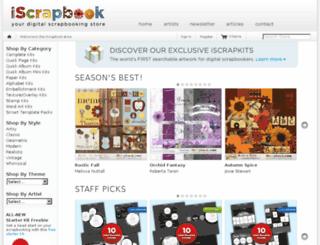 iscrapbook.com screenshot