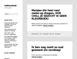 isditnouleuk.nl screenshot