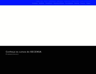 isecensa.edu.br screenshot