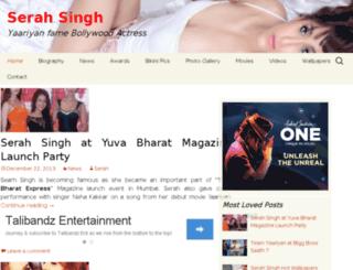 iserahsingh.com screenshot