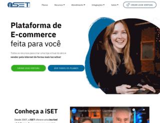 iset.com.br screenshot