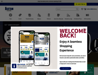 isetan.com.sg screenshot