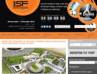 isfsaudi.com screenshot