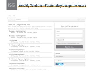 isgrp.applicantpro.com screenshot