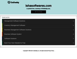 ishasoftwares.com screenshot