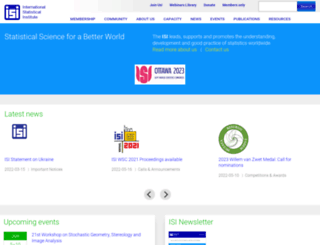 isi-web.org screenshot