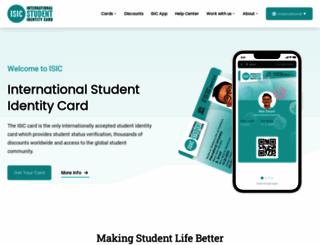 isic.org screenshot